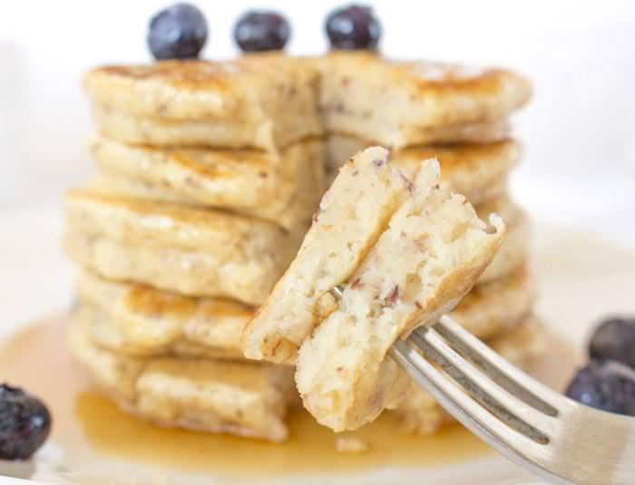 Vegan Pancakes Bite