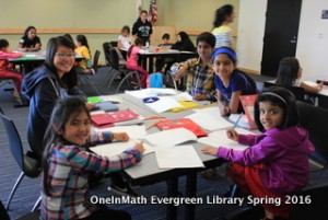 Evergreen Library Spring 2016 Photos