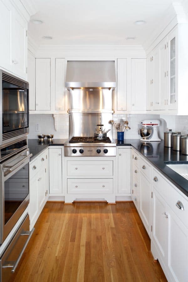 New York Apartment Creative Galley Kitchens Best Home