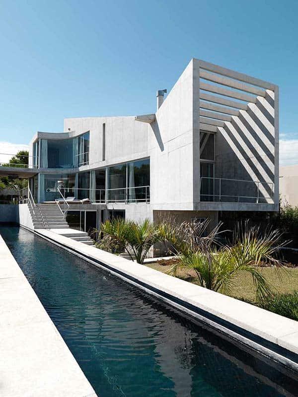 Ultra Fabulous Modern Concrete Dwelling In Uruguay