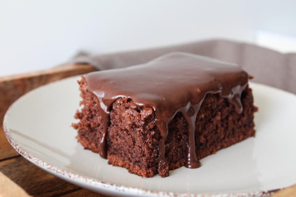 Svampet Chokoladekage