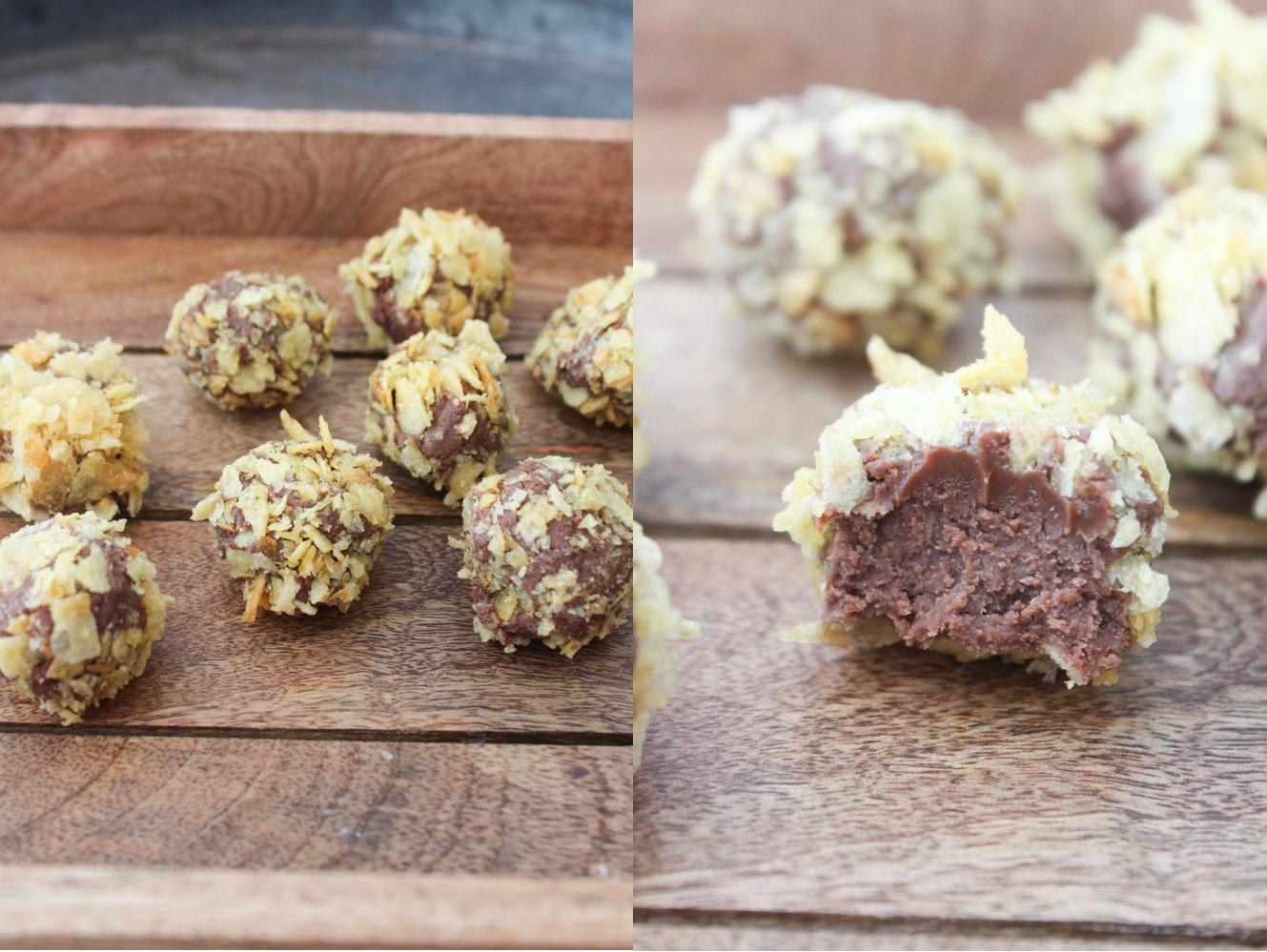 Chokolade, Nutella Og Kartoffelchips Trøfler
