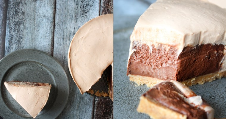 No Bake Chokolade Cheesecake Med Chokolade Budding