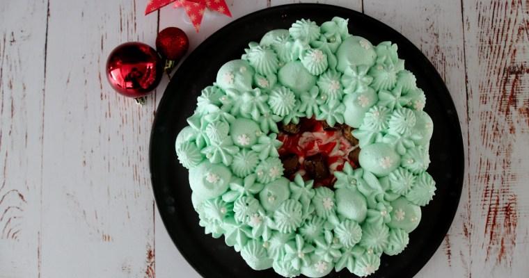 Julepavlova Med Jordbærsirup