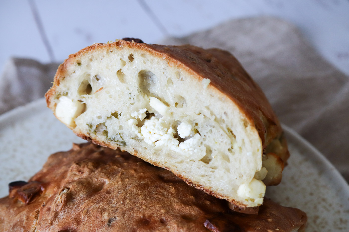 Græsk Farsbrøds Inspireret Brød