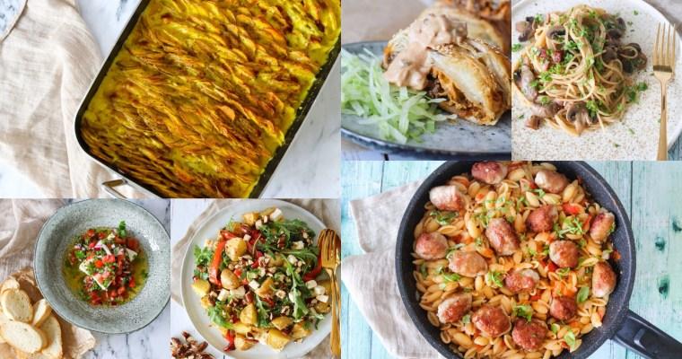 Madplan Uge 41 – 7 Retter – Lækker Inspiration Til Aftensmaden
