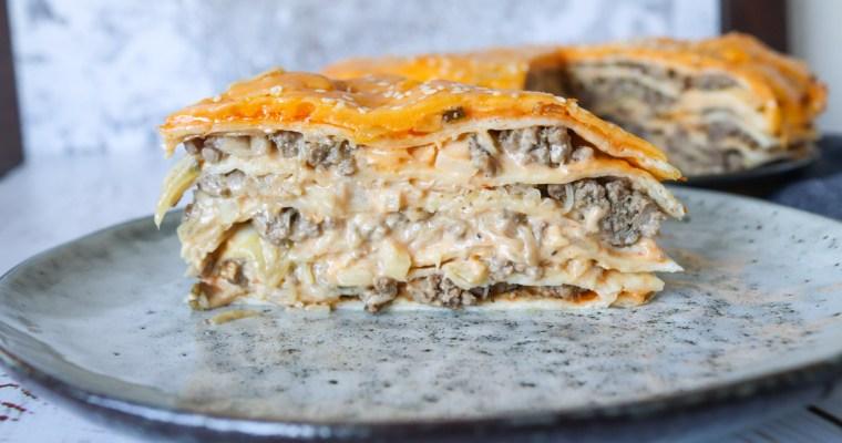 Big Mac Tortillalasagne – Nem Opskrift På Burger Tortillalasagne