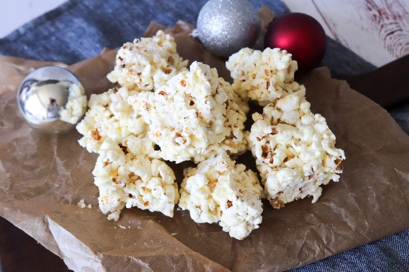 Popcornbrud Med Chokolade – Snack Til Jul Med Popcorn Og Chokolade
