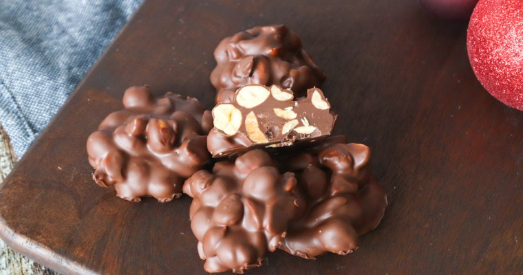 Konfekt Med Chokolade, Hasselnødder, Peanuts Og Nutella