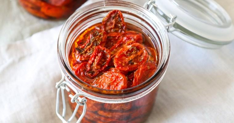 Semitørrede Tomater – Hjemmelavede Semitørrede Tomater