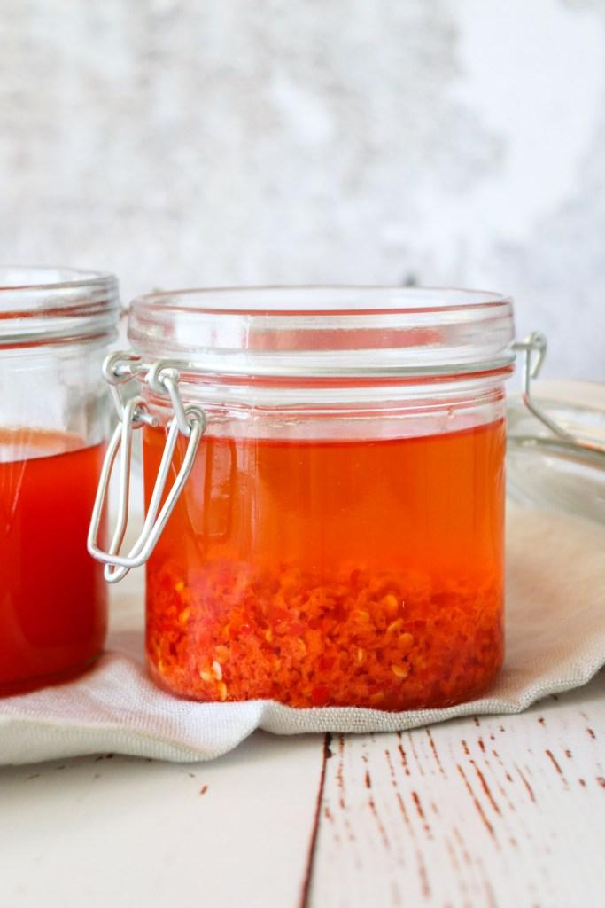 Hjemmelavet Persilleolie og Hjemmelavet Chiliolie På 2 Måder