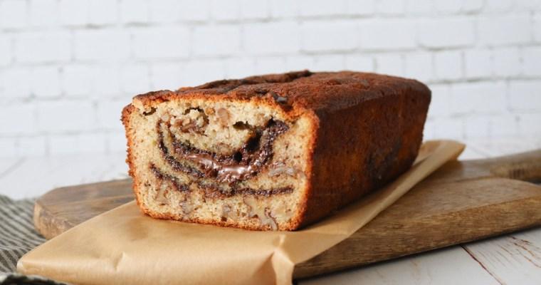 Banankage Med Nutella Og Valnødder – Bedste Opskrift På Banankage