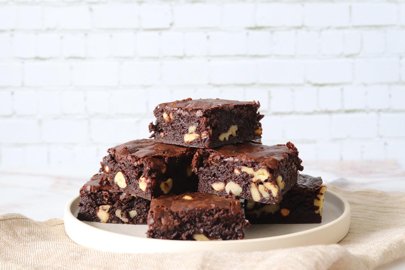 Brownie Med Nødder
