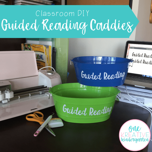 Classroom DIY: Guided Reading Caddies
