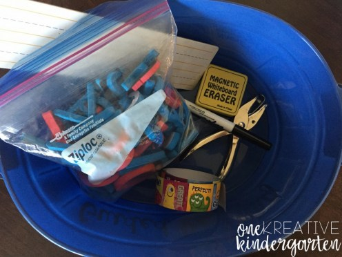 DIY: Guided Reading Caddies