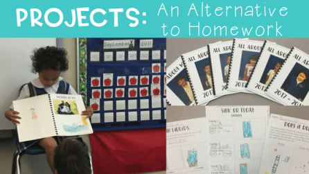 Need a more engaging way to get students working at home? Read here to find out how projects work in my kindergarten class.