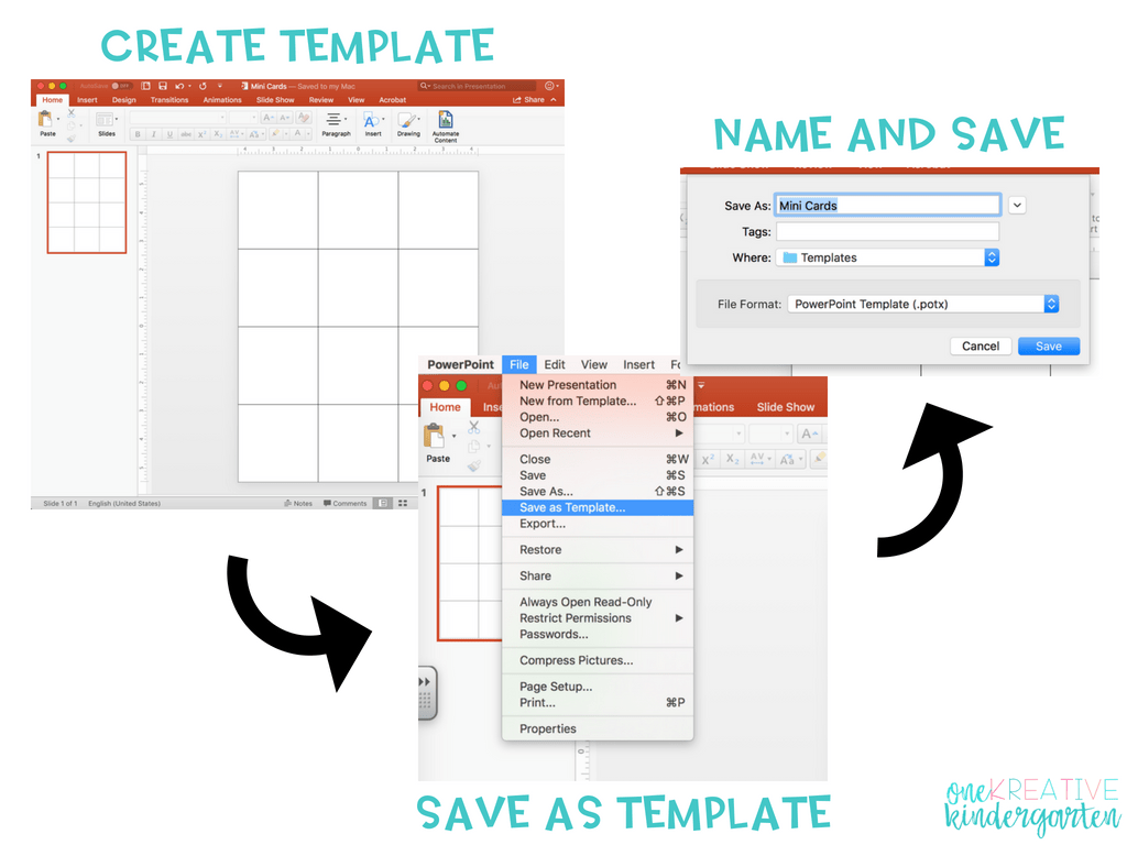 powerpoint create a template
