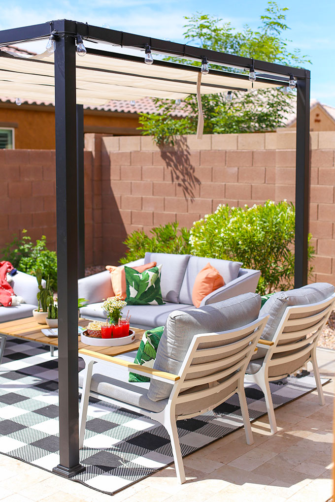our outdoor living space article to