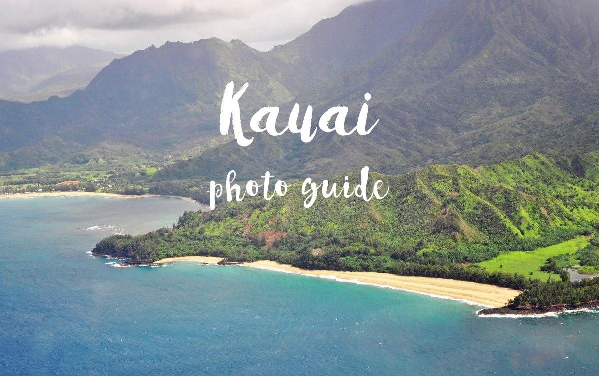 Photo guide to The Best 7 Beaches in Kauai