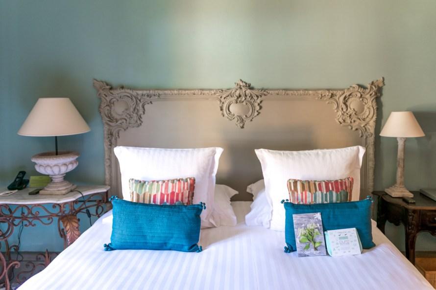 bedroom at Villa Marie Saint Tropez