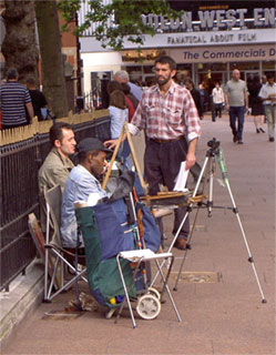 Leicester Square artists