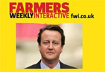 Farmers Weekly David Cameron logo