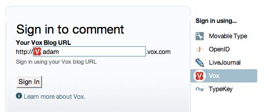 MT4 Vox Comment