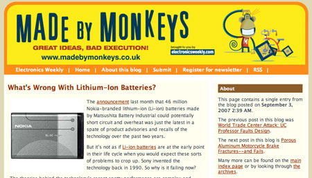 Made by Monkeys: Batteries