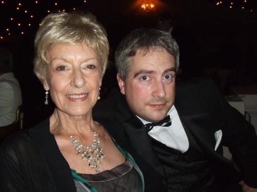 Mum & I at the ball