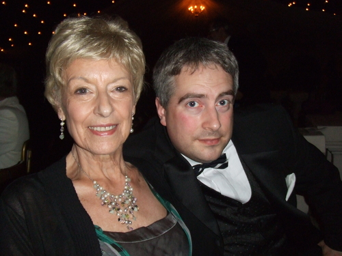 Mum & I at the ball