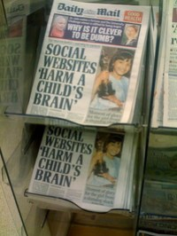 Thumbnail image for Mail: Social Media Harms Your Children