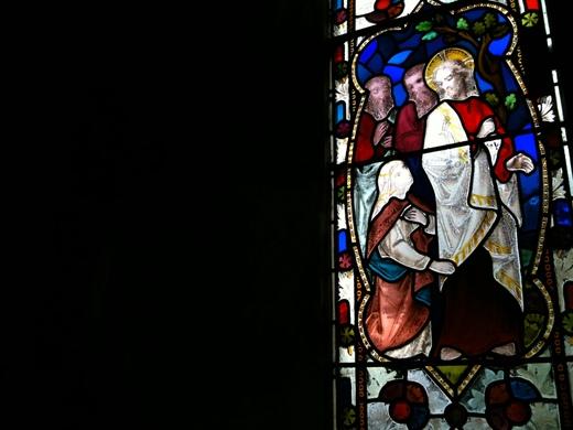 St Andrews, Bramfield (window focus)