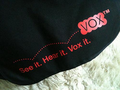 See It. Hear It. Vox It.