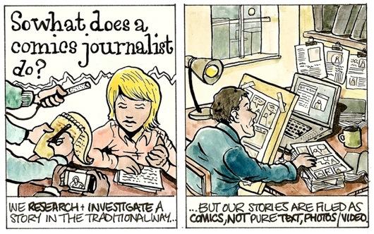 comics journos