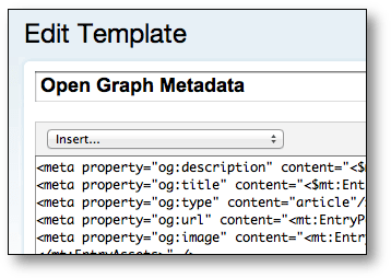 An Open Graph template