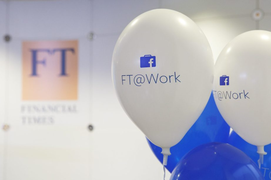 Facebook at work at the Financial Times
