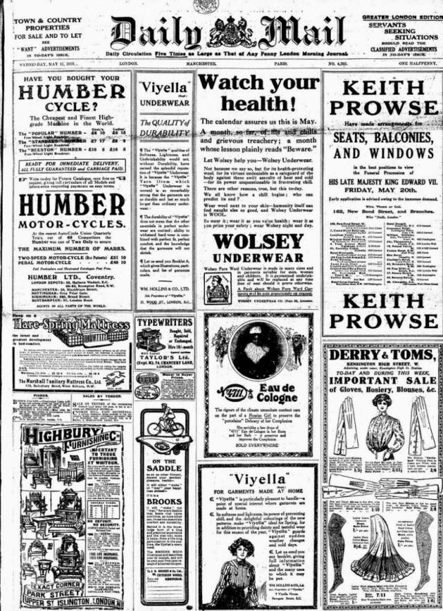 Early 20th century Daily Mail