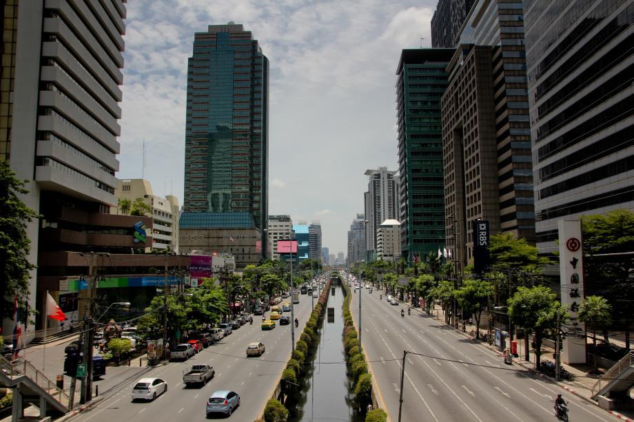 Bangkok ist eine moderne Metropole