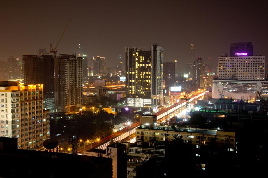 Bankok - Schlafplatz mit Aussicht