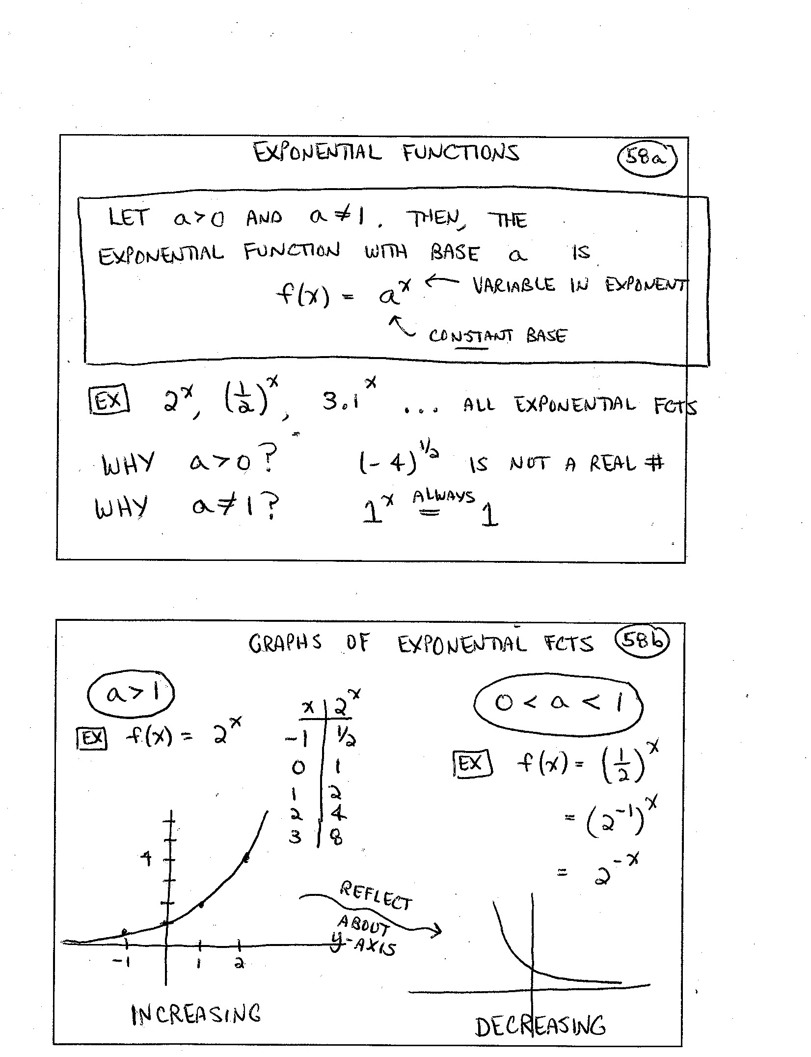 Exponential Function Word Problems Worksheet