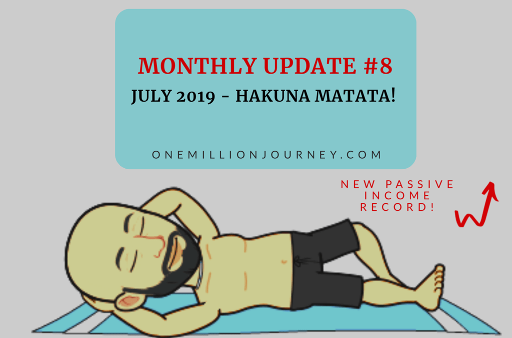 Monthly update july 2019 one million journey