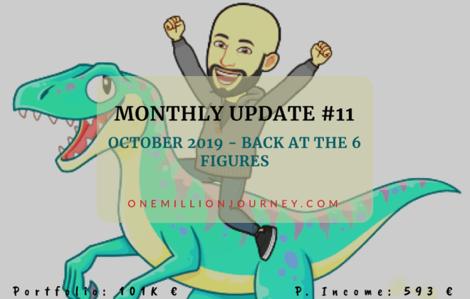 Monthy update 11 cover one millin journey
