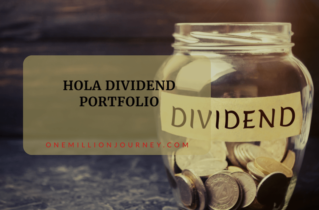 Dividend portfolio one million journey