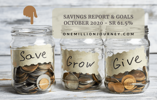 Savings report october 2020 one million journey