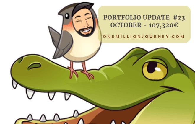 Portfolio update october 2020 one million journey