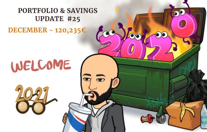 Portfolio Update 2020 one million journey