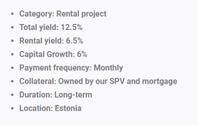 Reinvest24 project details