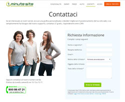 1MinuteSite - Creare Sito