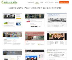 1MinuteSite - Creare Sito Web