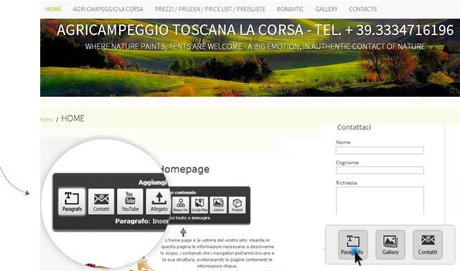 template_agriturismo_1minutesite